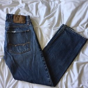 American Eagle Cropped Straight Jean Sz 26